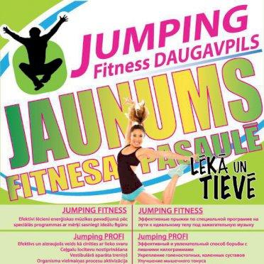 Jumping Fitness studija Daugavpils