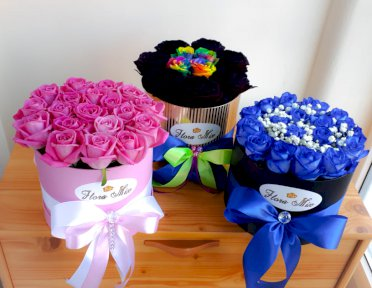 Ziedu salons Flora Mix