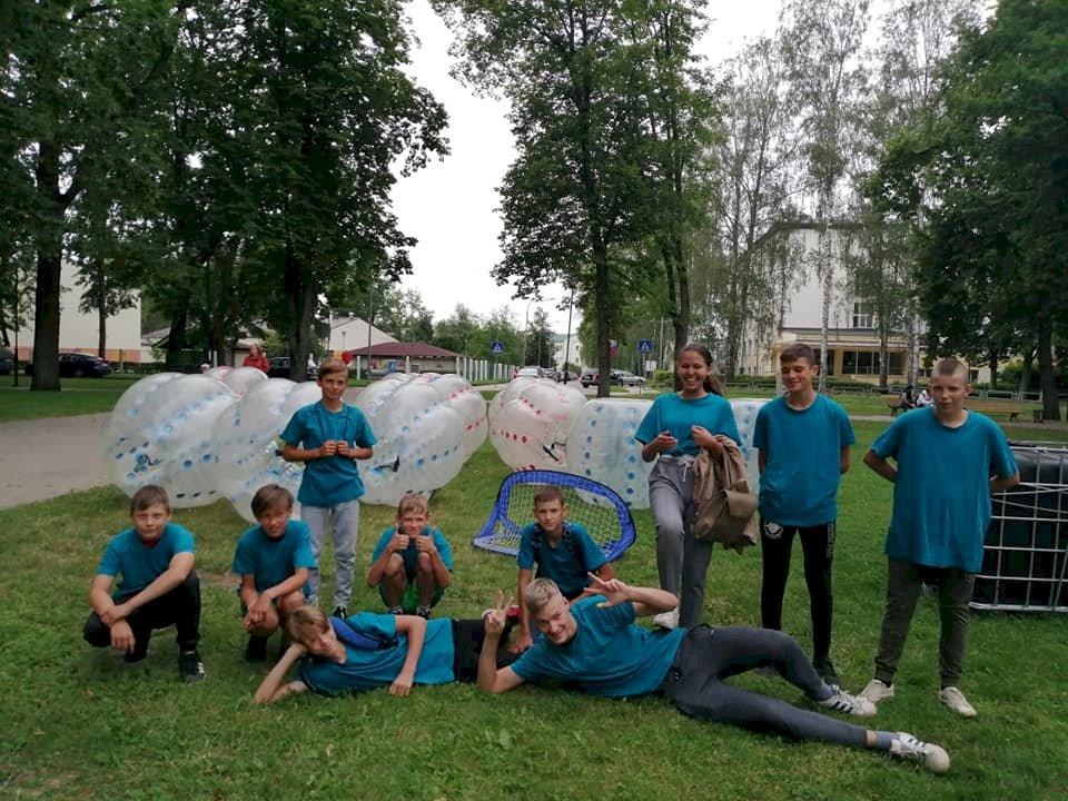 Jaunatnes dienas pasākumā arī mūsu jauniešu komandas