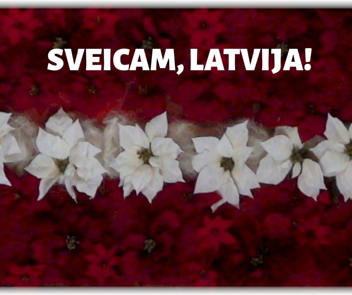Sveicam Latvijas Republikas proklamēšanas dienā!