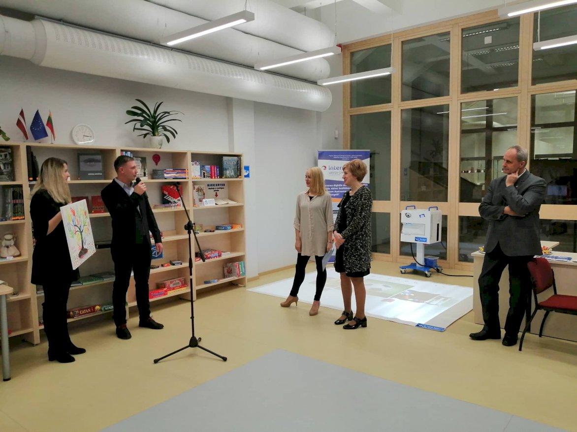 Ģimenes digitālo aktivitāšu centra jaunā aprīkojuma prezentācijas pasākums