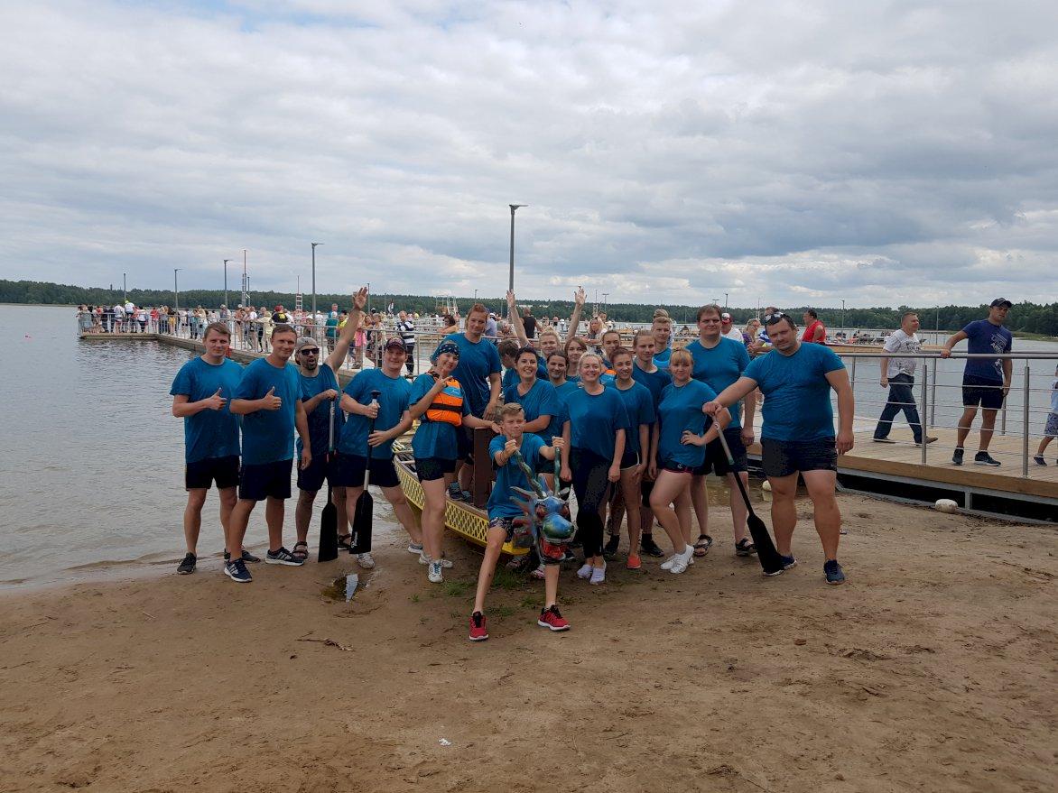 "Daugavpils I Starptautiskais ""Dragon Boat"" festivāls"